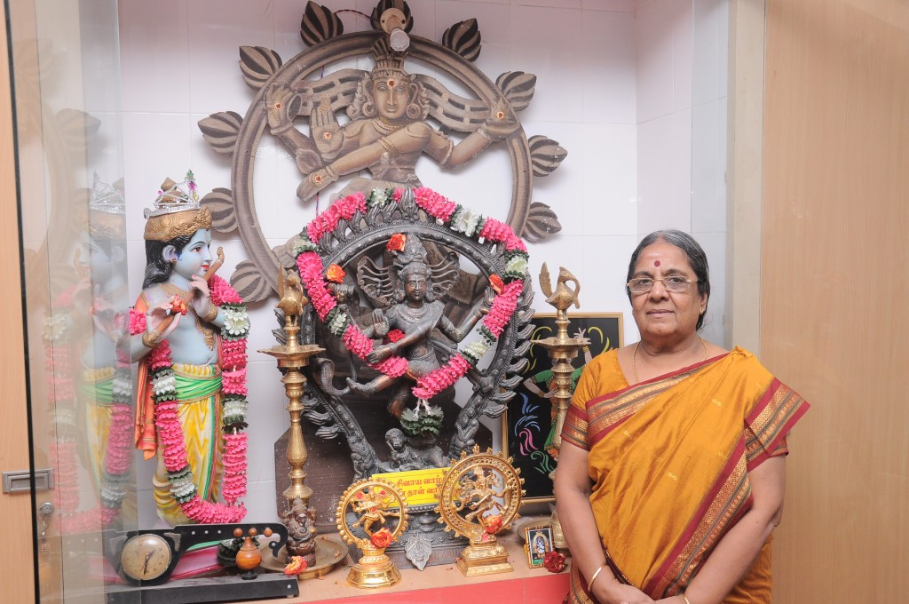 Teacher Geetha Saraswathi